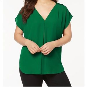 Beautiful green blouse from Macy's
